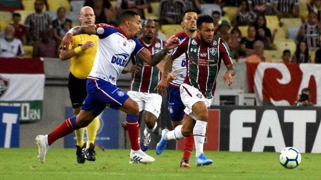 Fora de casa, Bahia leva 2 a 0 do Fluminense; veja os gols