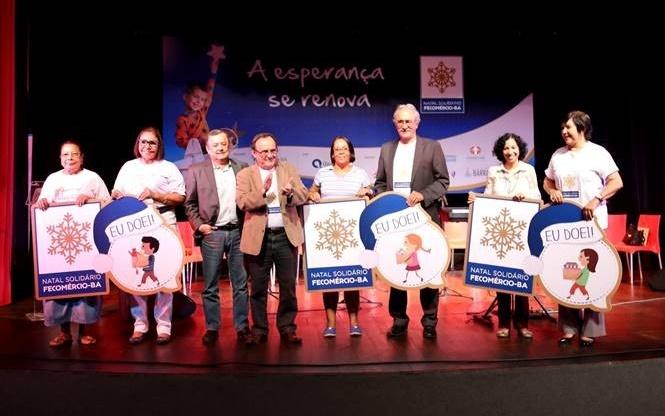 Fecomércio-BA vai lançar a campanha Natal Solidário nesta sexta