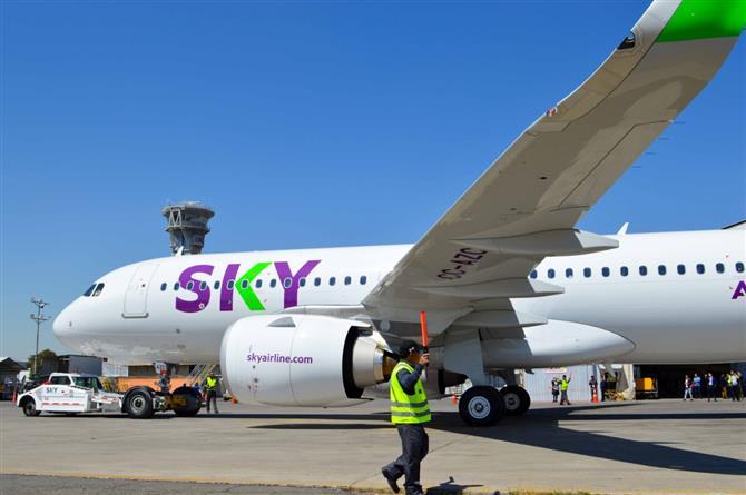 Nova rota da Sky entre Salvador e Santiago tem passagens a partir de US$ 88