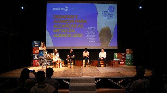 Resultado de imagem para Painel e premiação de boas práticas abrem Virada Sustentável em Salvador