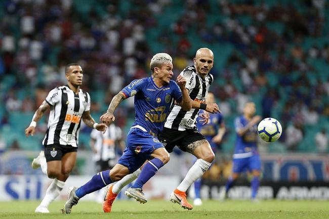 Bahia empata com o Atlético-MG em 1 a 1 na Fonte; veja os gols
