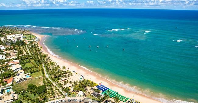 Camaçari: Praia de Guarajuba vai receber selo internacional Bandeira Azul