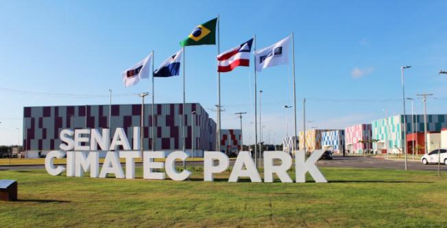 """""""CIMATEC Park é orgulho para a Bahia"""", diz João Leão"""