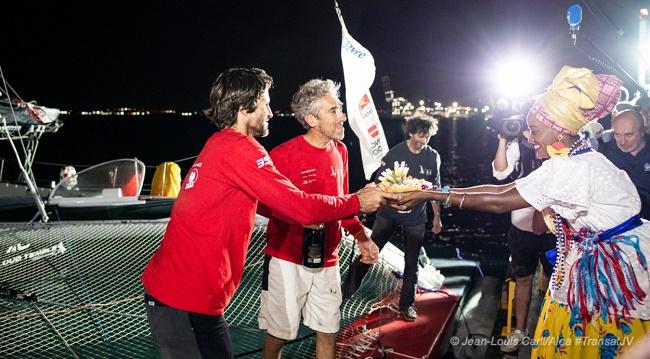 Transat Jacques Vabre: Barco francês Groupe CGA é primeiro a chegar em Salvador