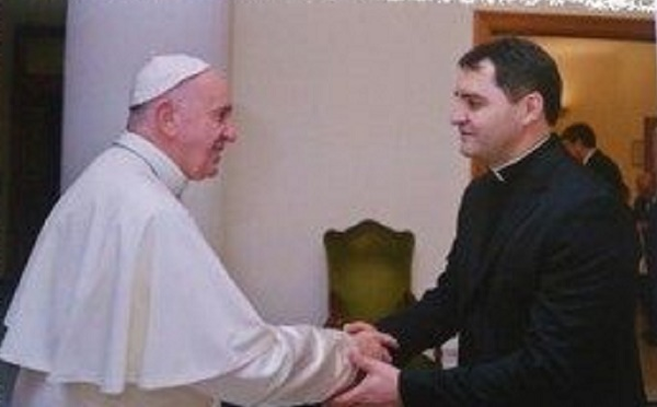Padre brasileiro é nomeado Capelão do Papa Francisco