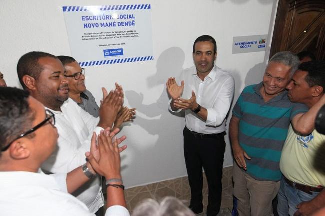 Bruno Reis entrega Escritório Social do Projeto Novo Mané Dendê
