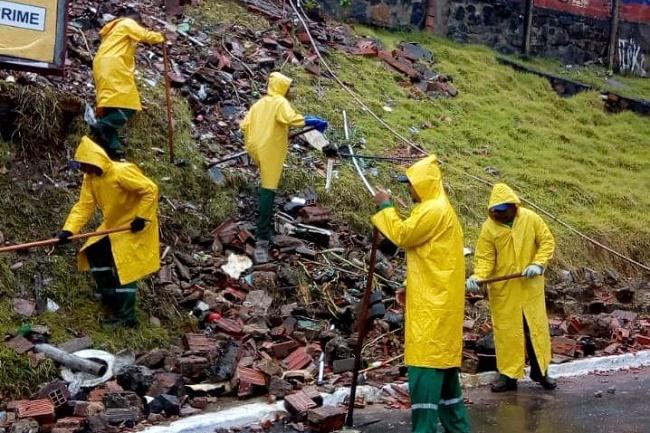Limpurb atua com mais de 210 agentes de serviços especiais na Operação Chuva