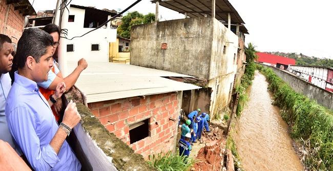 Prefeitura de Salvador prioriza atendimento às famílias vitimadas pelas chuvas