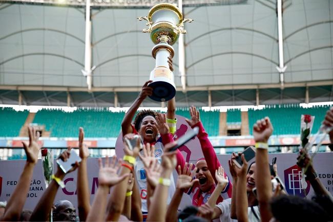 Bahia vence o Campeonato Baiano Feminino de 2019