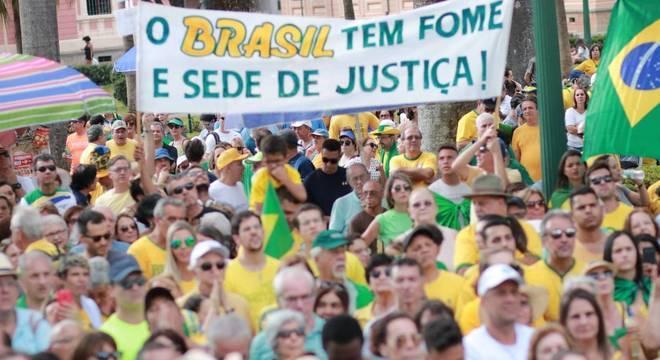 #VemPraRua e MBL realizam manifestações em sete capitais