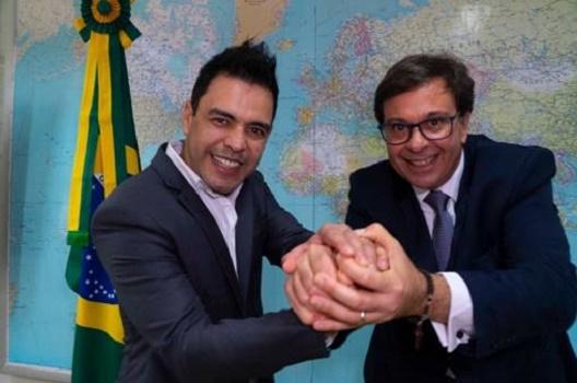 Zezé Di Camargo é o mais novo Embaixador do Turismo Brasileiro