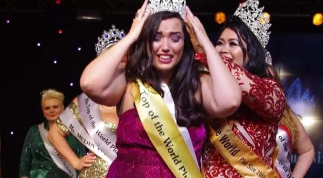 Brasileira vence concurso internacional de Miss Plus Size na Ucrânia