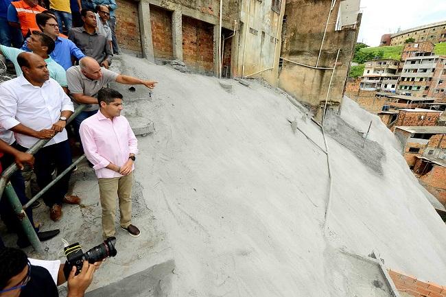 Geomanta leva proteção para área de risco em São Caetano