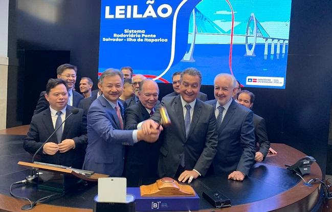 Ponte Salvador-Itaparica será construída por consórcio chinês