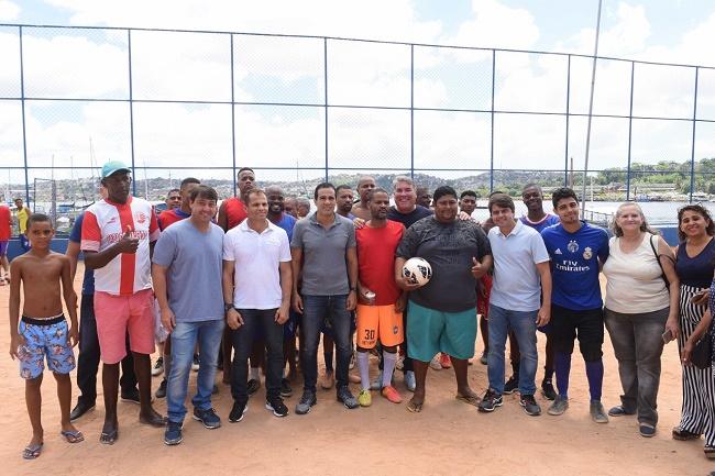 Prefeitura entrega Campo do Areal requalificado a moradores da Ribeira