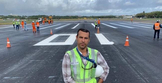 Engenheiro do aeroporto de Salvador vence prêmio de inovação da ANAC