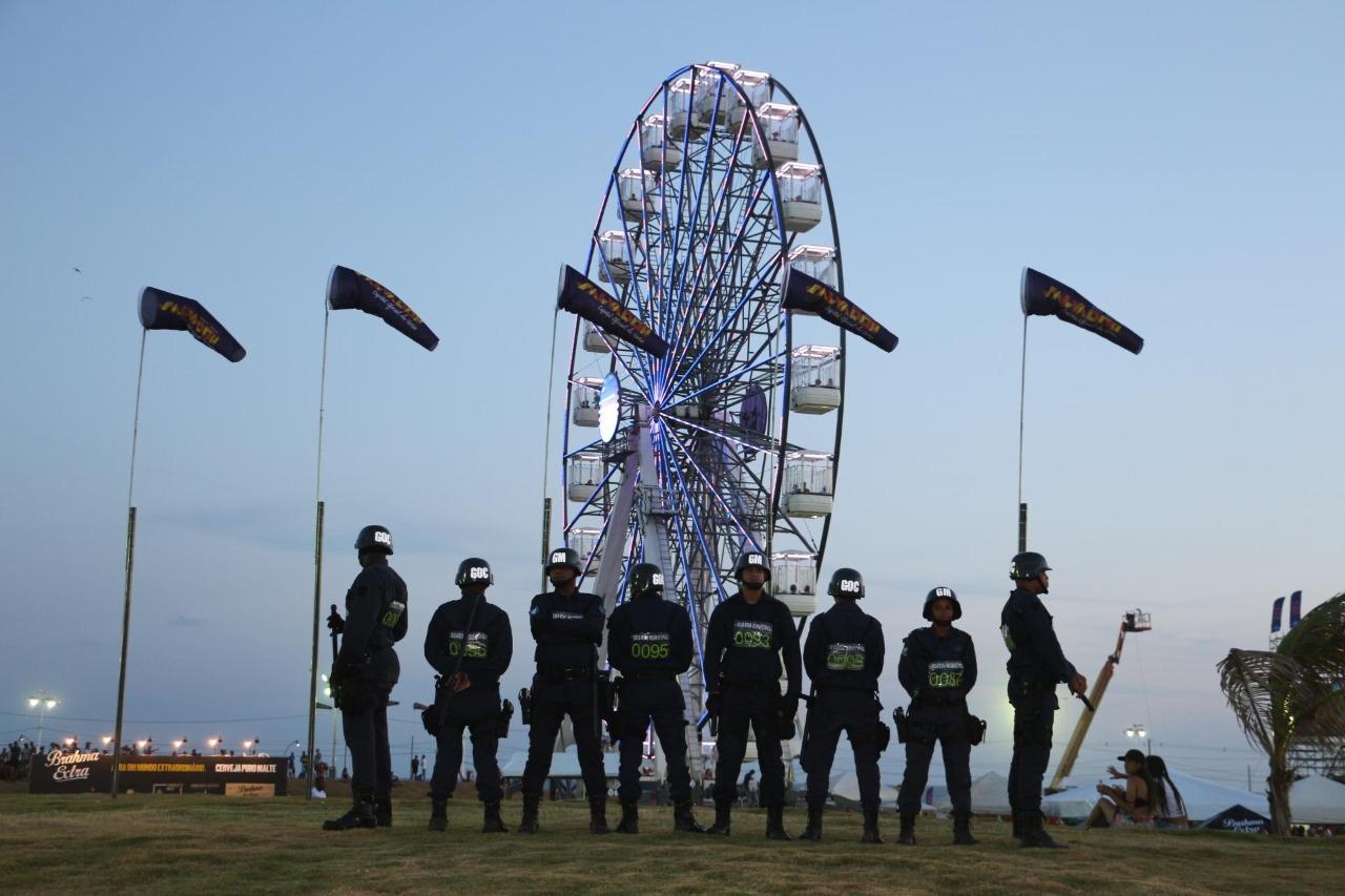 Virada Salvador terá mais de 2,5 mil policiais e guardas civis na segurança