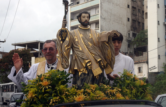 São Francisco Xavier terá festa litúrgica no Rio Vermelho e no Jardim Nova Esperança