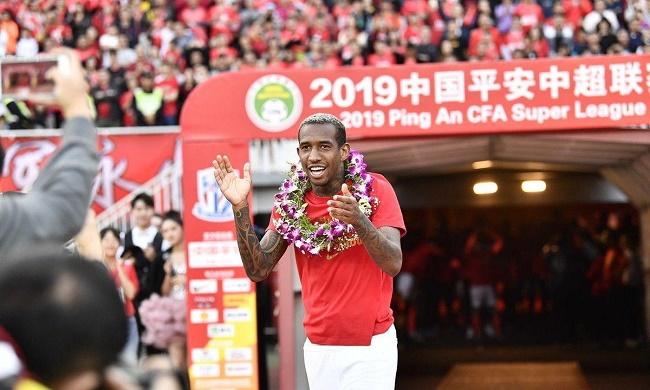 Anderson Talisca conquista título da Superliga Chinesa pelo Guangzhou Evergrand