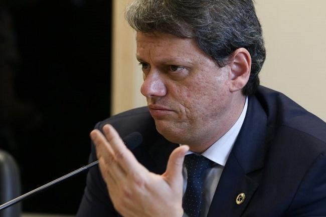 """Tarcísio: """"Governo quer leiloar 44 ativos de infraestrutura em 2020"""""""