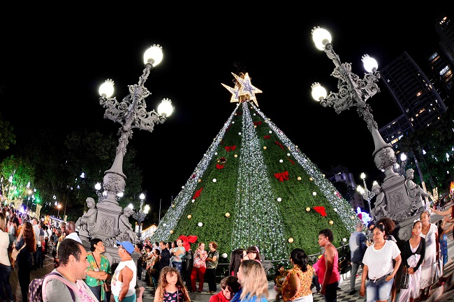 Decoração de Natal fica no Campo Grande até segunda