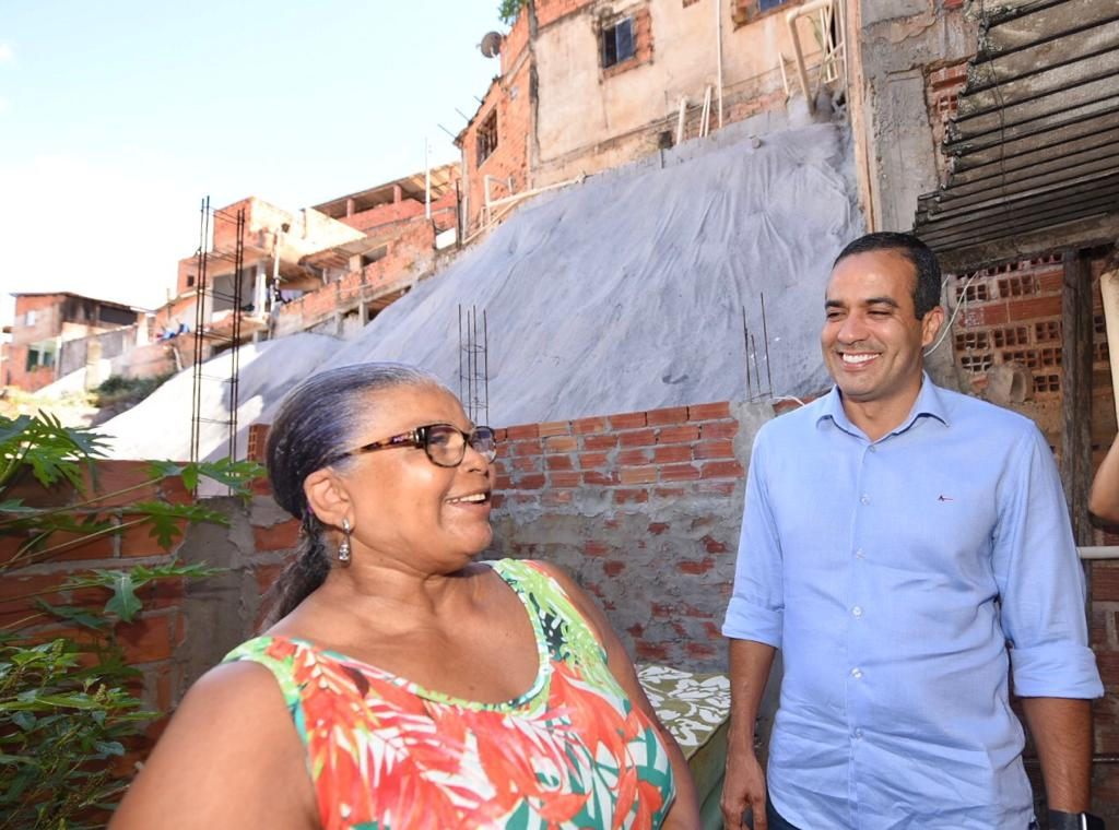 Áreas de risco em Pernambués ganham geomantas