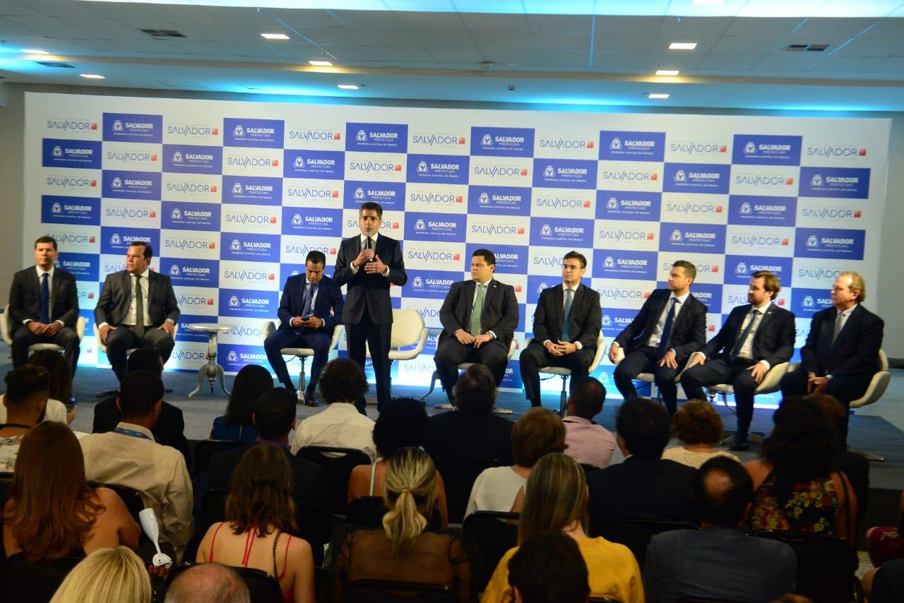"""""""Novo Centro de Convenções é um marco histórico para a cidade"""", diz ACM Neto"""