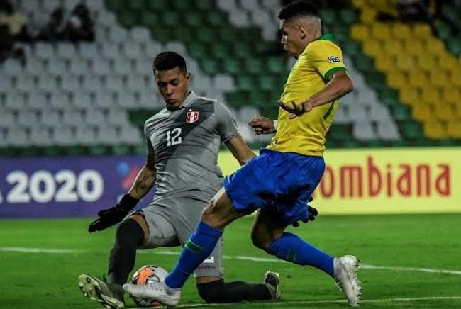 Brasil vence o Peru por 1 a 0 na estreia do Pré-Olímpico; veja o gol