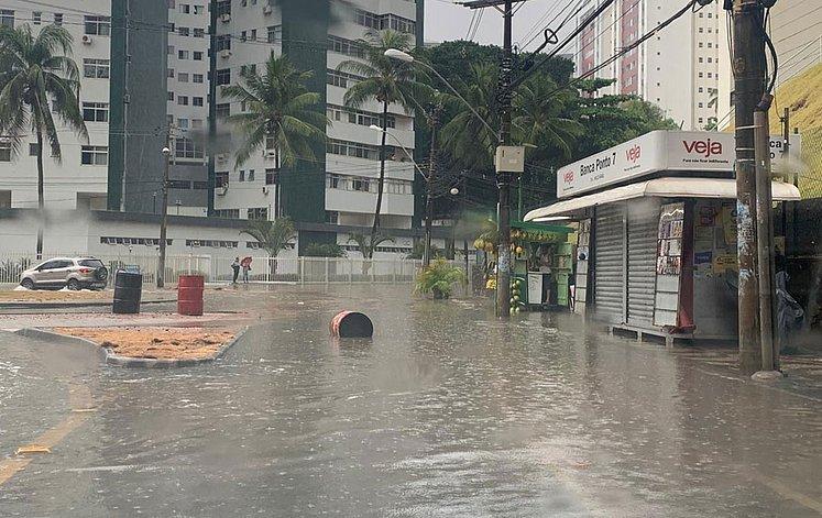 Salvador tem mais de 120 ocorrências provocadas pela chuva