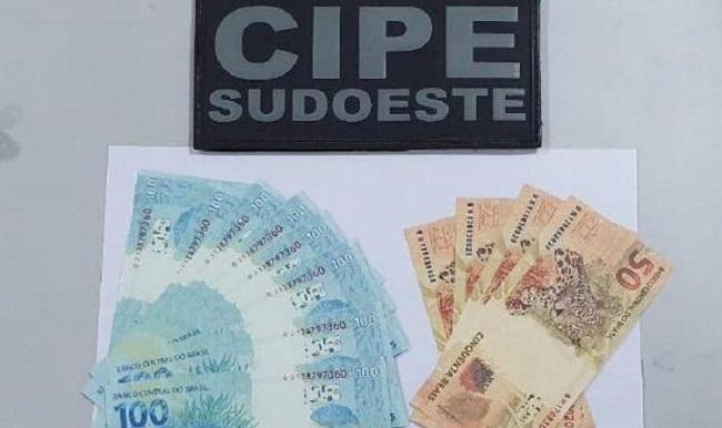 Homem é preso com R$ 20 mil falsificados no Sudoeste da Bahia