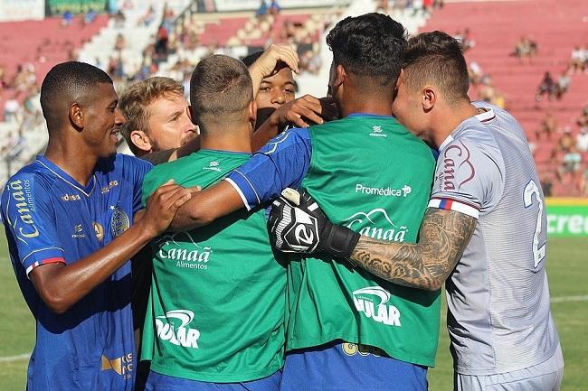 Bahia vence o XV de Piracicaba por 2 a 1 e segue vivo na Copinha