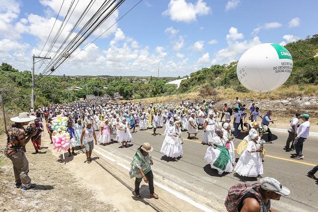 Lavagem de Jauá homenageia Bom Jesus dos Navegantes nesta sexta