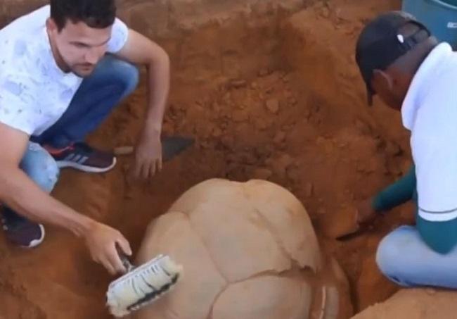 Agricultor encontra urna funerária indígena em Senhor do Bonfim