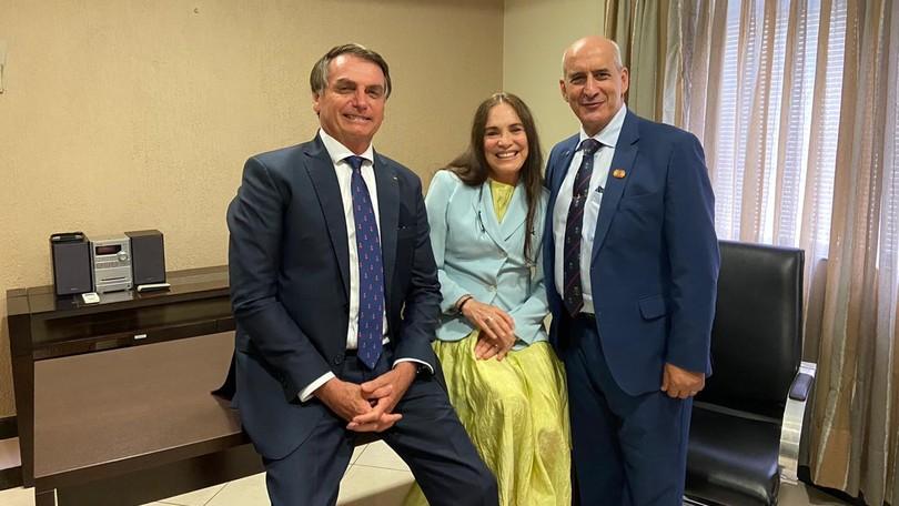 Planalto diz que Regina Duarte irá a Brasília para conhecer Secretaria Especial da Cultura