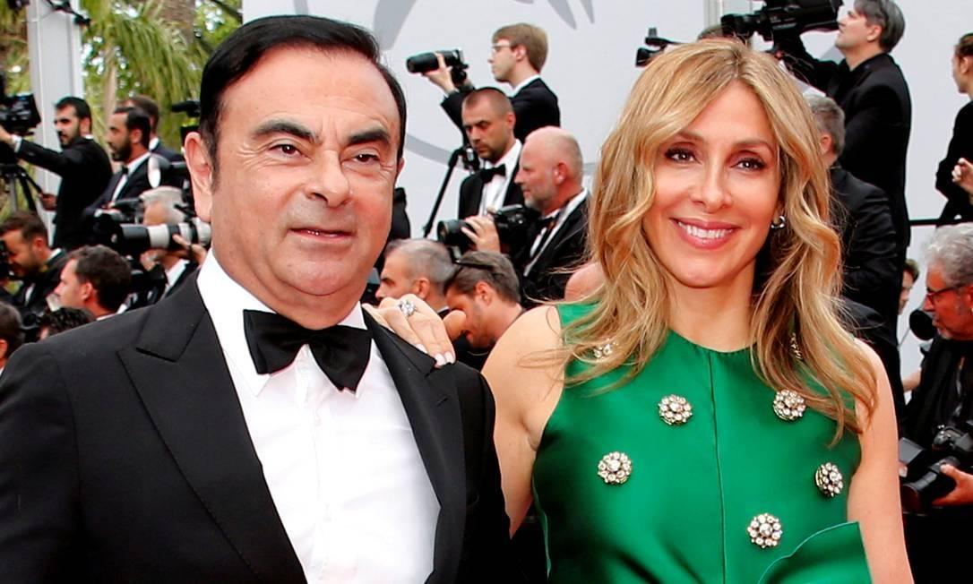 Justiça do Japão pede a prisão da mulher de Carlos Ghosn