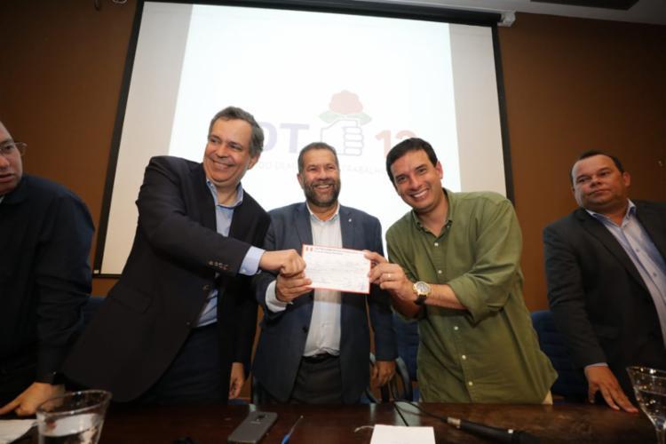 PDT lança pré-candidatura de Leo Prates a prefeito de Salvador