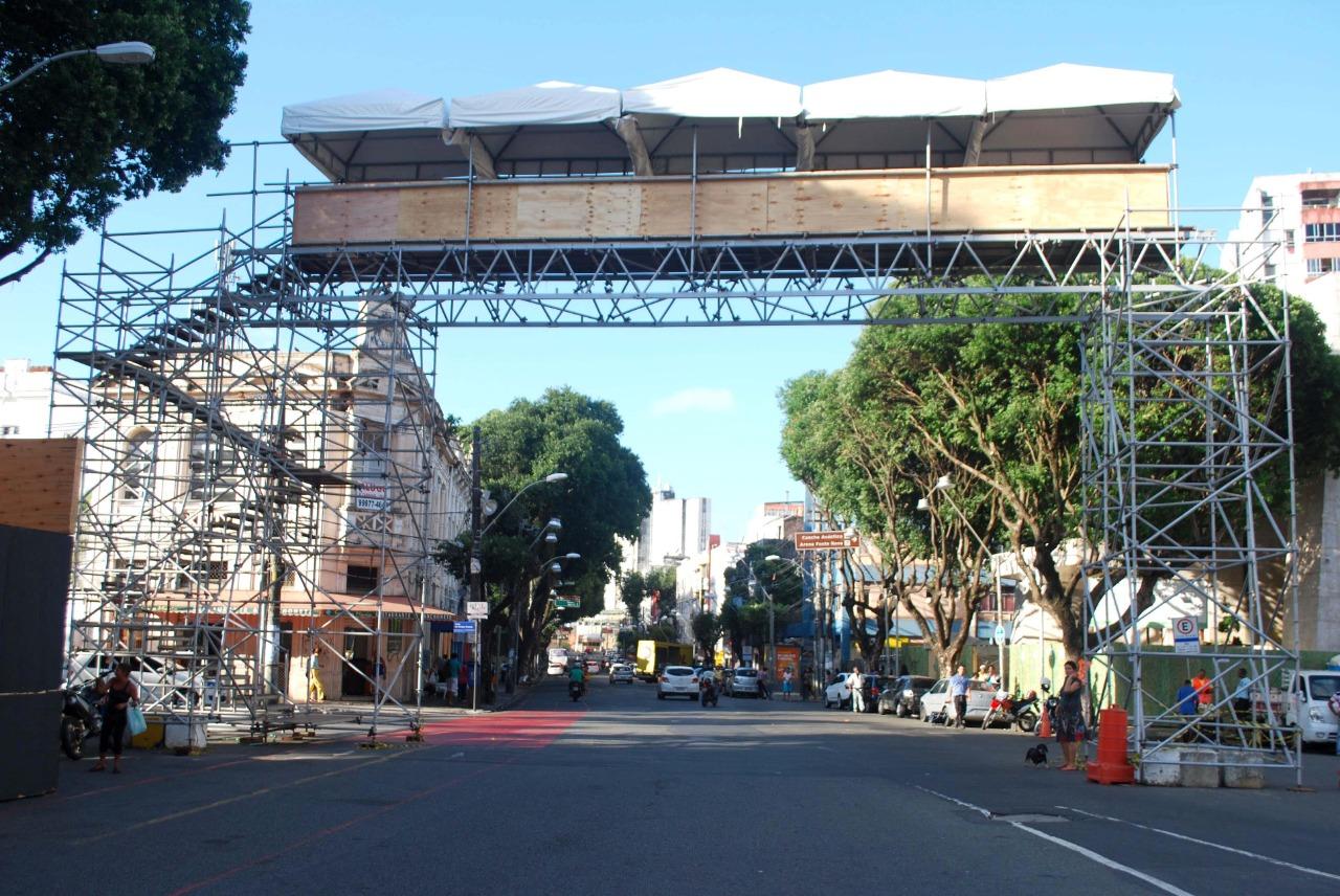 Circuitos do Carnaval de Salvador recebem mutirão de serviços