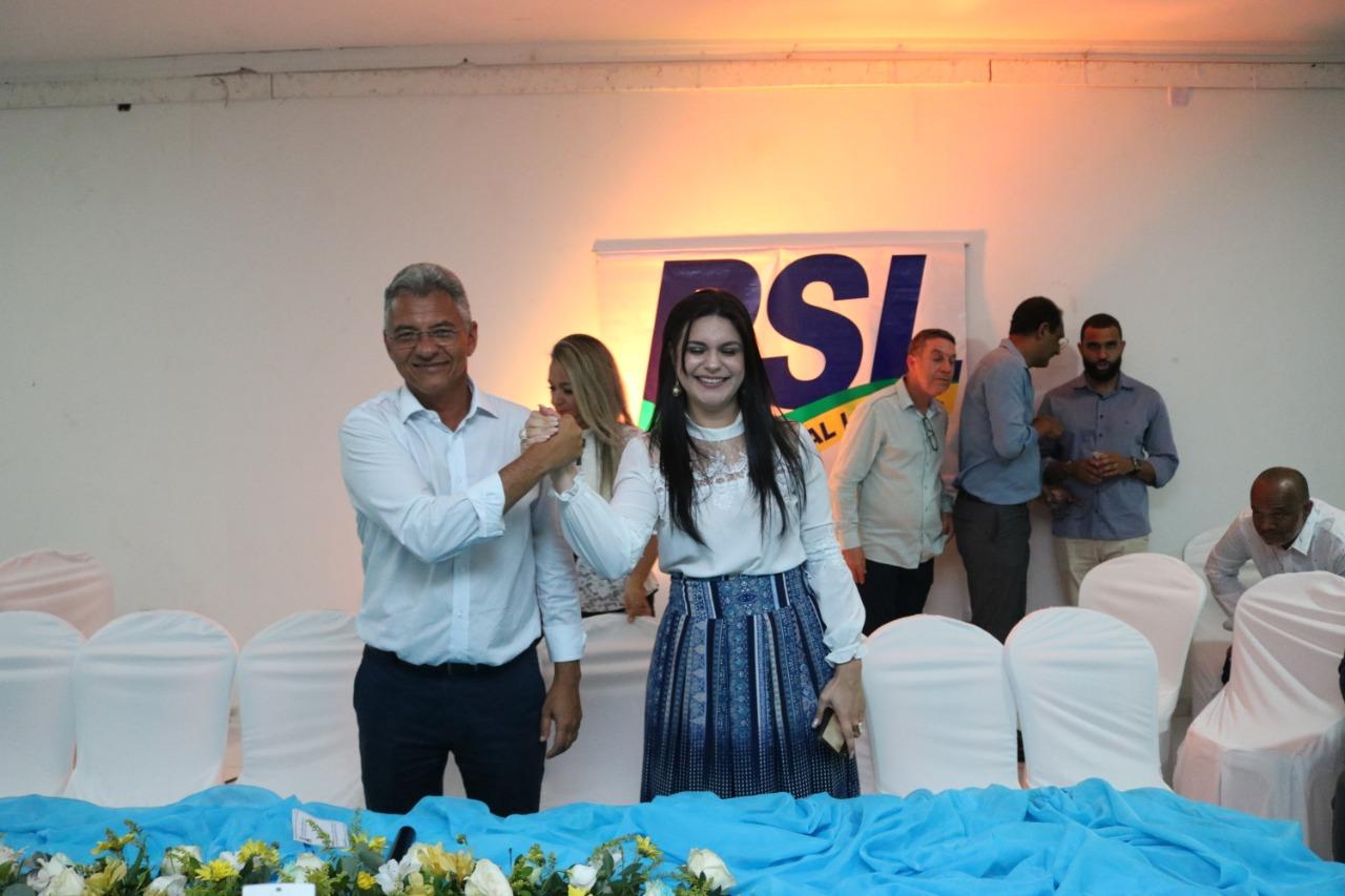 PSL anuncia apoio à pré-candidatura de Dinha em Simões Filho