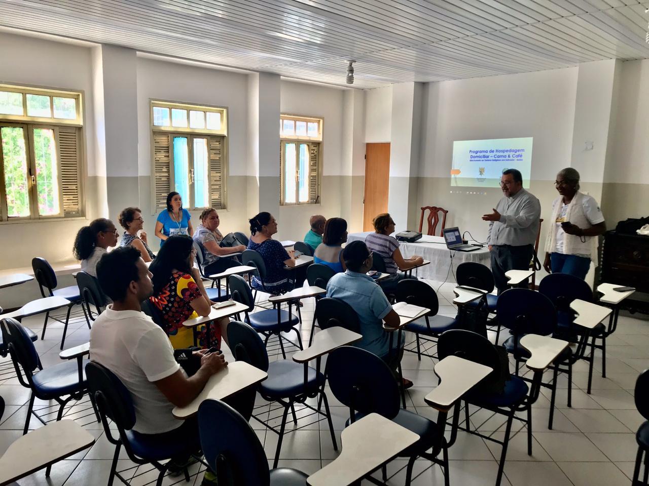 Pastur inicia capacitação para hospedagem domiciliar no Roteiro Caridade e Fé em Salvador
