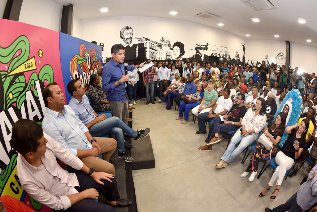 Mais de 100 entidades negras de Salvador receberão apoio da Prefeitura para o Carnaval