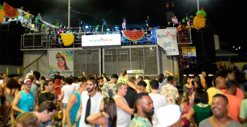 Cristine Cardoso puxa primeiro Bloco Ecológico do Carnaval de Salvador