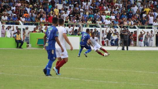 Fora de casa, Bahia aplica 3 a 1 no Jacobina; veja os gols
