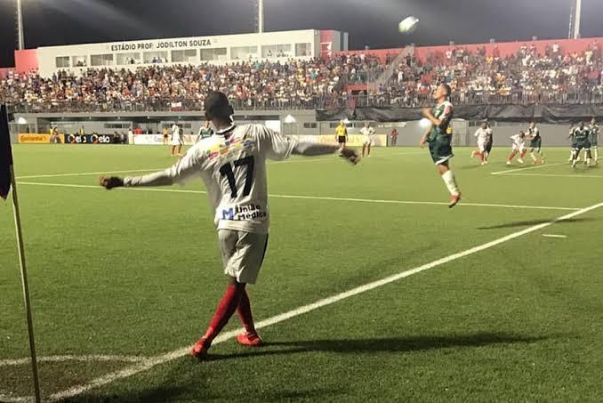 Bahia de Feira aplica 3 a 1 no Luverdense e avança na Copa do Brasil