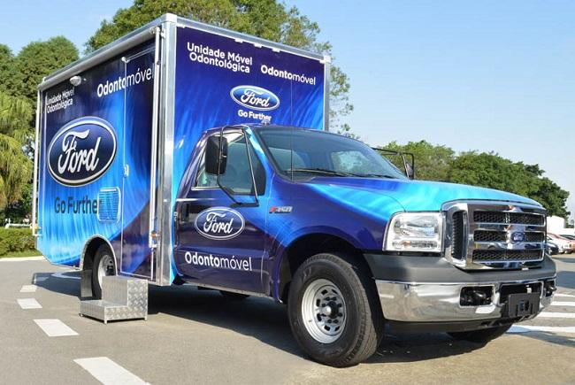 Ford vai lançar odontomóvel para atender estudantes de Dias D'Ávila