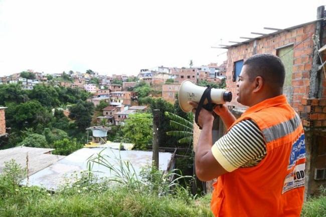 Após chuva, Codesal registra deslizamento de terra em Valéria