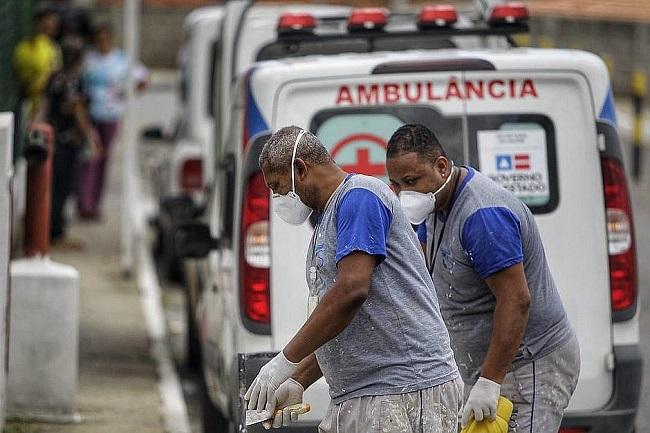 Bahia tem crescimento de 7,7% nos casos de covid-19 em cinco dias