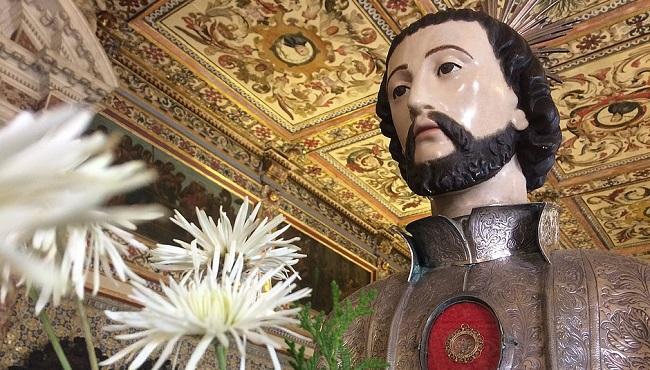 Relíquia do padroeiro de Salvador está exposta para veneração pública na Catedral