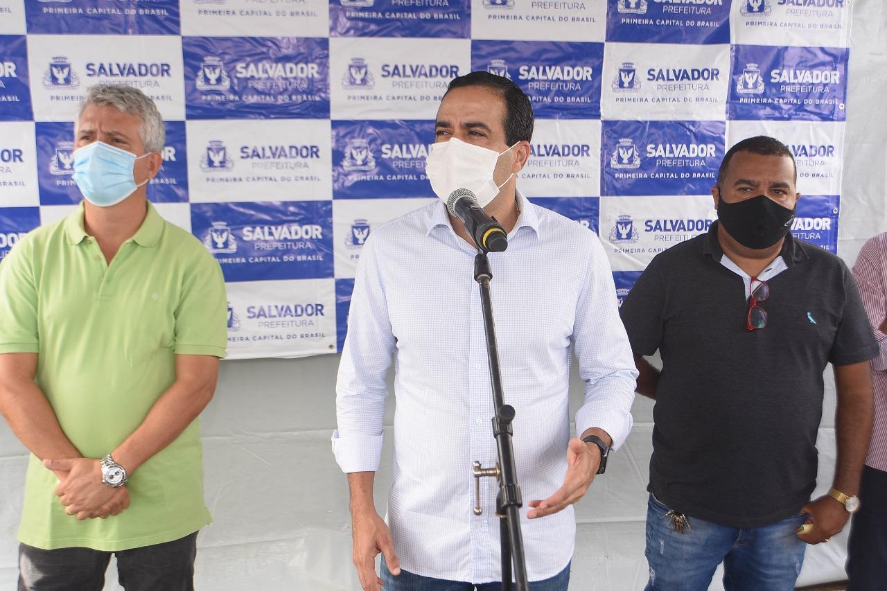 Feira de São Joaquim ganha nova iluminação e obras de pavimentação e drenagem