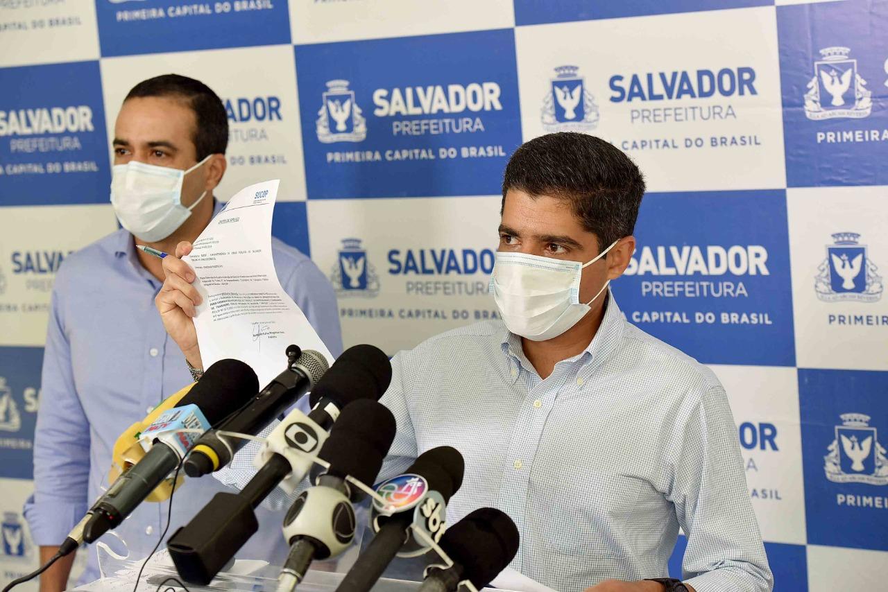 Prefeitura autoriza construção de mais dois trechos do BRT Salvador