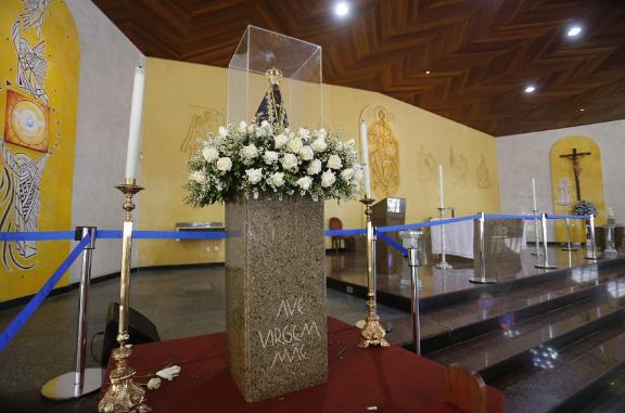 Imagem de Nossa Senhora Aparecida percorrerá ruas de Salvador no domingo